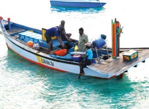 Fishing is a major occupation of the islanders