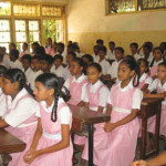 A view of the students