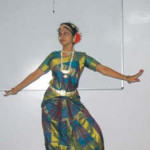 a dance performance by a student
