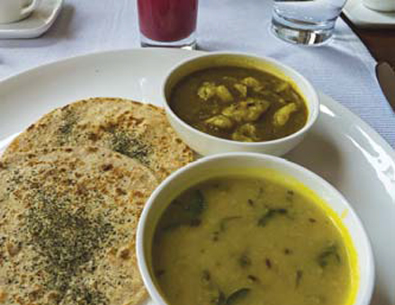 Fine dining and Ayurveda cuisine