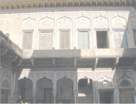 The havelis of Shekhawati are very famous
