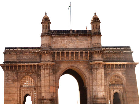 The Gateway of India, Mumbai, a silent witness to the final departure of the British from India