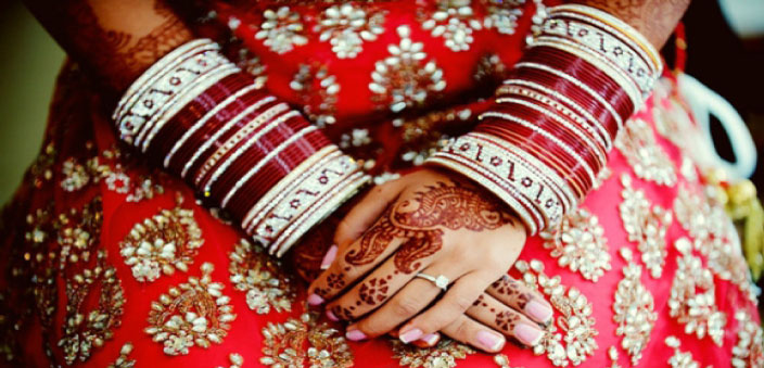 Bangles for the bride - One India One People Foundation