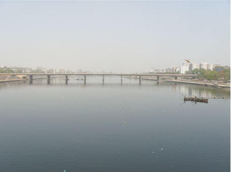 The tranquil Sabarmati River