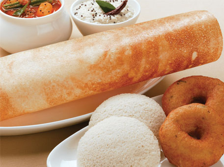 The south Indian dosa and idli are pan-Indian now