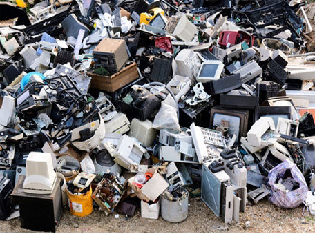 India generates a lot of e-waste, which some firms have now started recycling