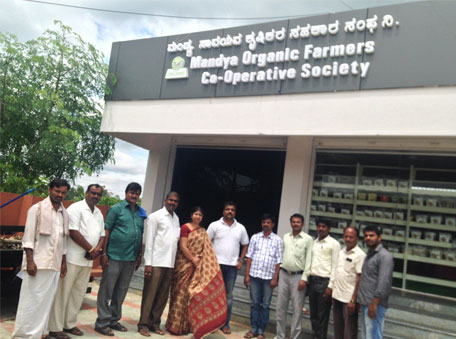 The Mandya Organic Farmers Co-operative Society