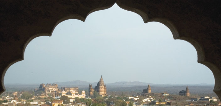 The enchanting world of Orchha framed!