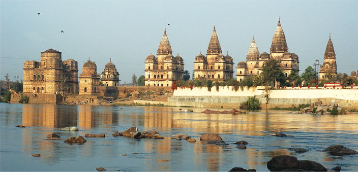 A stretch of land along the Betwa River