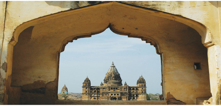 The Chaturbhuj Temple