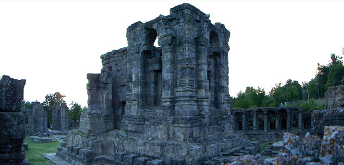 The Martand Temple complex