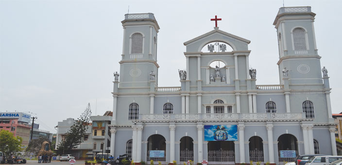 The Milagres Church, one of the popular churches in Mangalore