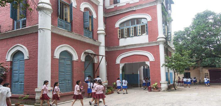 The Jewish Girls School once educated both the rich and poor Jewish girls  (Photo: Ashok Sinha)