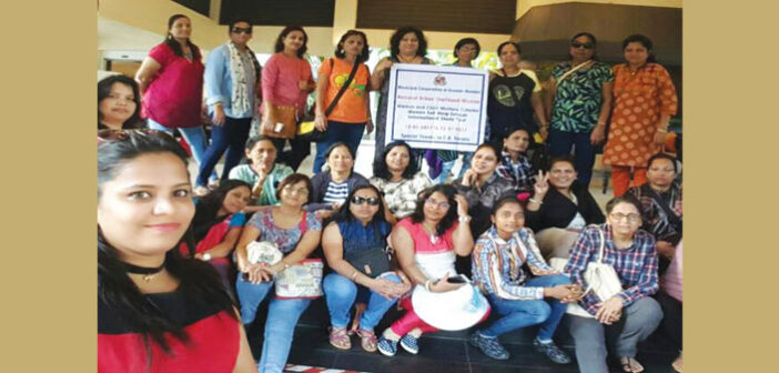 The group of 30 business women from Mumbai