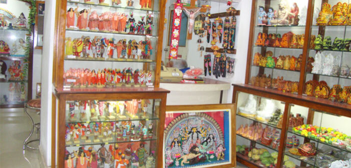 Miniature clay craft of  Krishnanagar