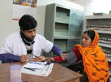 The Kusugram PHC – women have been the main beneficiaries of the RHCF health centres