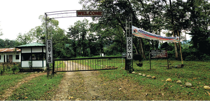 The entrance to Namdapha National Park, India's third largest national park