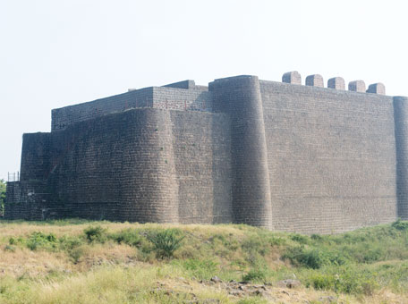 The stone keep of Bala Hisar, Gulbarga Fort