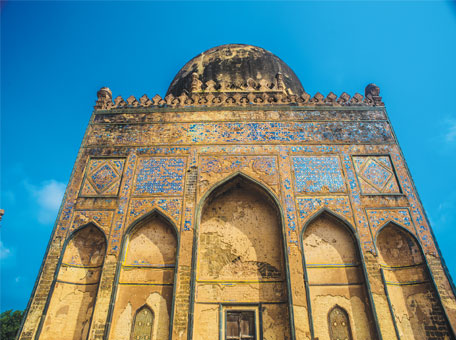 The tomb of Allauddin Ahmad Shah
