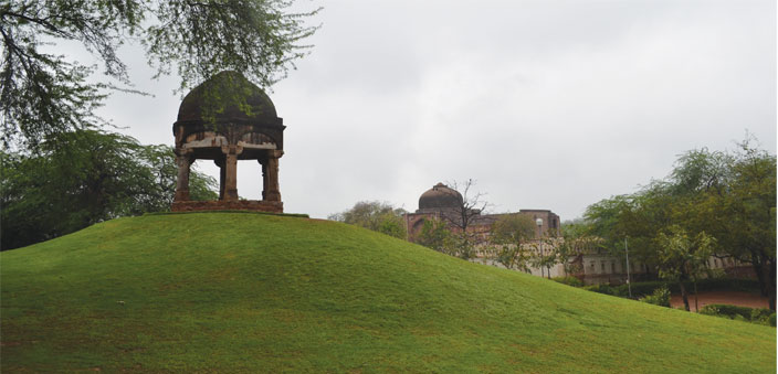 The Folly at Dilkhusha