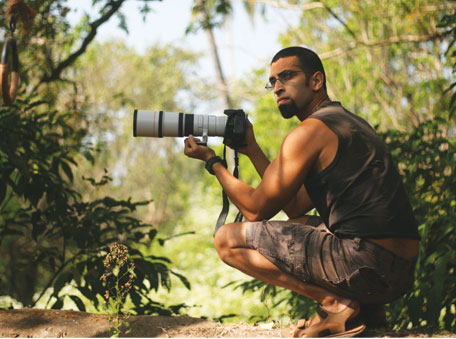 Rahul Alvares is an avid photographer