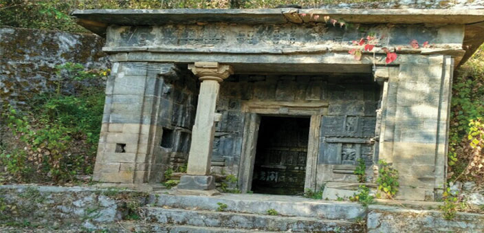 The Ek Hathiya Naula; it's a heritage monument, but is neglected