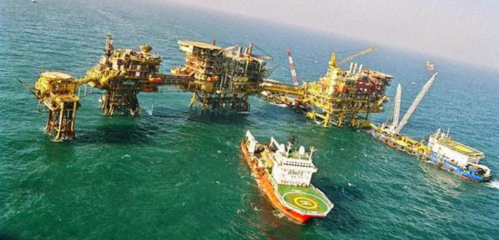 Bombay High; these oil fields off the Mumbai coast have been considerably exploited