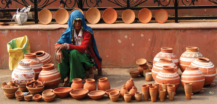 The Kagzi pottery from Alwar