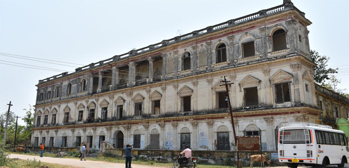 The Sathyavijayanagaram Palace at the capital of the Arni Jagirs