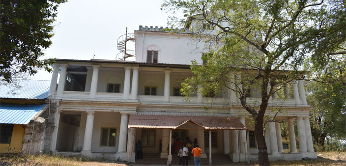 The Queen's Palace adjoining the Sathyavijayanagaram Palace
