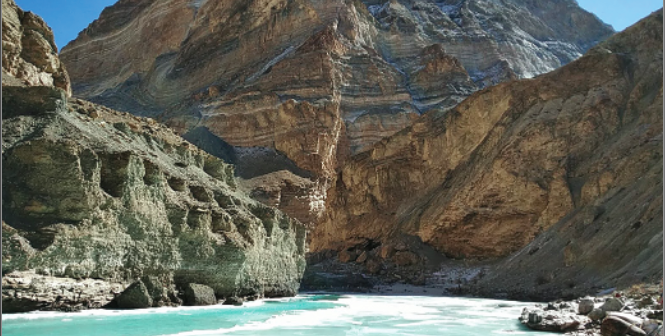 Chadar Trek – The penguin walk on a frozen river